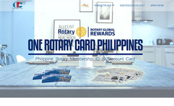 one rotary card philippines thumb